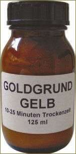 Mixtion Goldgrund rapid 10-20min. gelb 125ml
